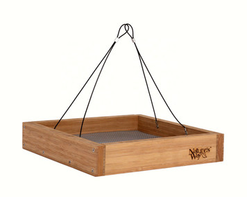 Bamboo Tray Feeder