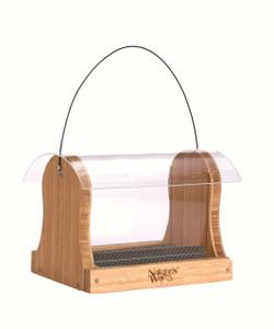 Bamboo 4 Qt. Hopper Feeder