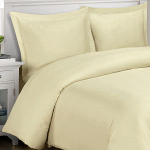 Royal Tradition Bamboo Viscose Duet Cover Sets - Linen