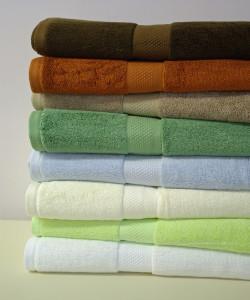 Abundance Bamboo Blend 6 Piece Towel Set
