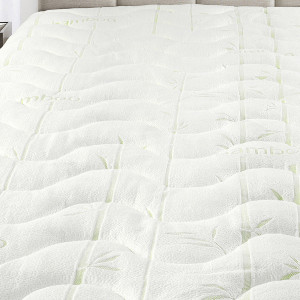 Royal Tradition Bamboo Jacquard Mattress Pad