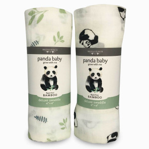 Bamboo / Viscose Panda Baby Swaddle