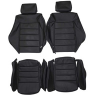1981-1992 Volkswagen Scirocco MK2 Custom Real Leather Seat Covers (Front)