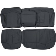 2000-2002 Chevrolet Suburban Custom Real Leather Seat Covers (Rear)