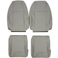 1998-2000 Ford Explorer Custom Real Leather Seat Covers (Front)