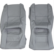 1983-1989 BMW M6 E24 6-Series M635csi Custom Real Leather Seat Covers (Rear)