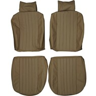 1972-1979 Mercedes Benz C107 280SLC 450SLC Custom Real Leather Seat Covers (Front)