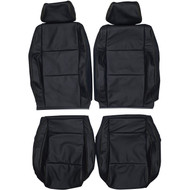 1999-2005 Volkswagen Golf GTI MK4 Custom Real Leather Seat Covers (Front)