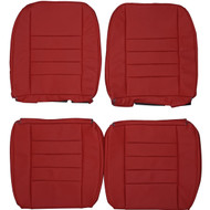 1961-1969 BMC Wolseley Hornet & Riley Elf Custom Real Leather Seat Covers (Front)