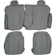 1996-2003 Mercedes CLK430 Coupe Custom Real Leather Seat Covers (Rear)
