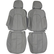 1996-2003 Mercedes CLK430 Coupe Custom Real Leather Seat Covers (Front)