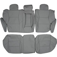 2001-2007 Volvo V70 Custom Real Leather Seat Covers (Rear)