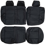1999-2005 Volkswagen Golf GTI MK4 Custom Real Leather Seat Covers (Rear)