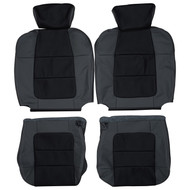 2001-2003 Ford F-150 SuperCrew Custom Real Leather Seat Covers (Front)