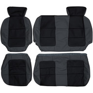 2001-2003 Ford F-150 SuperCrew Custom Real Leather Seat Covers (Rear)