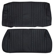 1968-1976 BMW E10 2002 Custom Real Leather Seat Covers (Rear)