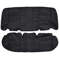 2003-2011 Ford Crown Victoria Police Interceptor Custom Real Leather Seat Covers (Rear)