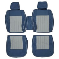 1981-1991 Mercedes Benz W126 380 420 SE SEL Custom Real Leather Seat Covers (Front)