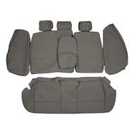 2006-2011 BMW E90 328i 330i Sedan Custom Real Leather Seat Covers (Rear)
