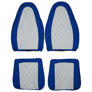 1970-1978 AMC Gremlin Custom Real Leather Seat Covers (Front)