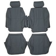 2000-2006 Toyota Tundra Double Cab Custom Real Leather Seat Covers (Front)
