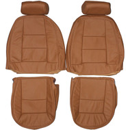 1996-1998 Land Rover Discovery I Custom Real Leather Seat Covers (Front)