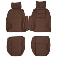 1990-1995 Range Rover Classic SWB Custom Real Leather Seat Covers (Front)