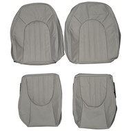 2001-2006 Jaguar XK8 X100 Custom Real Leather Seat Covers (Front)