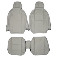 2010-2013 Volvo C70 Convertible Custom Real Leather Seat Covers (Front)