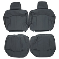 2000-2002 Chevrolet Suburban Custom Real Leather Captain Seat Covers (Rear)