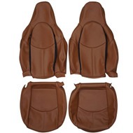 2005-2012 Porsche Boxster Cayman 987 Standard Custom Real Leather Seat Covers (Front)