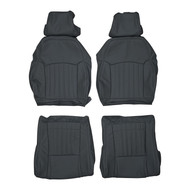 1996-2002 Pontiac Firebird Trans Am Custom Real Leather Seat Covers (Front)