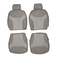 1991-1998 Mercedes Benz W140 S-Class Custom Real Leather Seat Covers (Front)