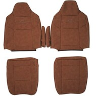 2003-2007 Ford F-250 King Ranch Custom Real Leather Seat Covers (Front)