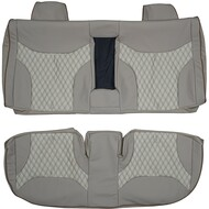 1991-1998 Mercedes Benz W140 S-Class Custom Real Leather Seat Covers (Rear)