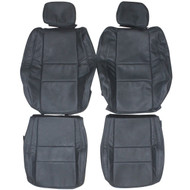 2015-2019 Jeep Cherokee Laredo Custom Real Leather Seat Covers (Front)