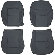 1992-1999 Mercedes Benz C140 CL500 CL-Class Custom Real Leather Seat Covers (Front)