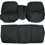1968 Cadillac Eldorado Custom Real Leather Seat Covers (Front)