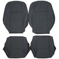 2002-2005 Saab 9-5 Aero Custom Real Leather Seat Covers (Front)
