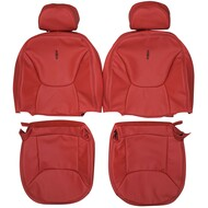 1997-1998 Lincoln Mark Viii Custom Real Leather Seat Covers (Front)