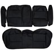 2000-2005 Chevrolet Monte Carlo SS Custom Real Leather Seat Covers (Rear)