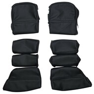 1985-1995 Porsche 928 Custom Real Leather Seat Covers (Rear)