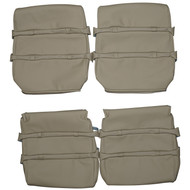 1977-1981 Volvo 262c Bertone Coupe Custom Real Leather Seat Covers (Front)
