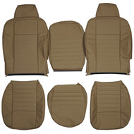1983-2006 Land Rover Defender Custom Real Leather Seat Covers (Front)