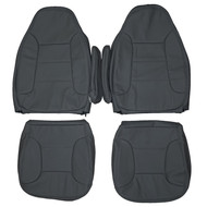 1992-1996 Ford Bronco Eddie Bauer XLT Custom Real Leather Seat Covers (Front)