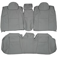 2007-2012 Lexus LS460 Custom Real Leather Seat Covers (Rear)