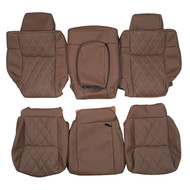 2006-2010 Jeep Commander Custom Real Leather Seat Covers (Rear)