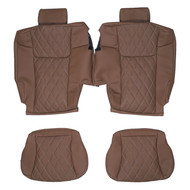 2006-2010 Jeep Commander Custom Real Leather Seat Covers (3rd Row)