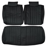 1971 Pontiac Catalina Convertible Custom Real Leather Seat Covers (Front)