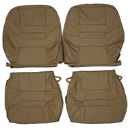 1986-1992 Volvo 780 Bertone Coupe Custom Real Leather Seat Covers (Front)